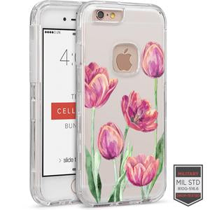 IPHONE 6/ 6S - RAPTURE CLEAR FLORAL TULIP 81-0010118 - Accesorios y repuestos Celular Cellairis