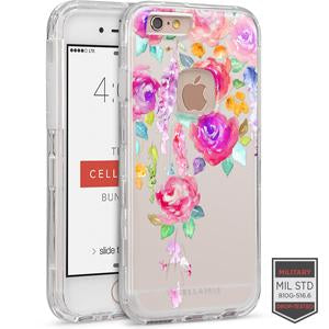 IPHONE 6/ 6S - RAPTURE CLEAR FLORAL VINE 81-0010119 - Accesorios y repuestos Celular Cellairis