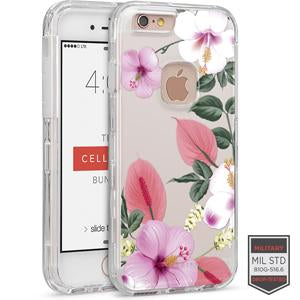 IPHONE 6/ 6S - RAPTURE CLEAR FLORAL ANTHURIUM 81-0010120 - Accesorios y repuestos Celular Cellairis
