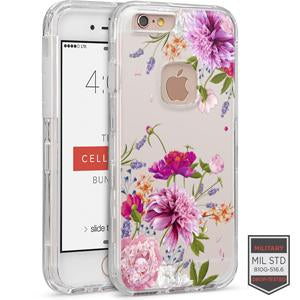 IPHONE 6/ 6S - RAPTURE CLEAR FLORAL DAHLIA 81-0010122 - Accesorios y repuestos Celular Cellairis