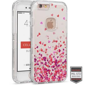 IPHONE 6/ 6S - RAPTURE CLEAR HEART BREEZE PINK 81-0010125 - Accesorios y repuestos Celular Cellairis
