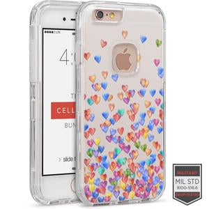 IPHONE 6/ 6S - RAPTURE CLEAR HEART CRAZY 81-0010128 - Accesorios y repuestos Celular Cellairis