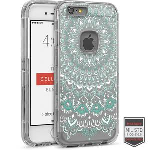 IPHONE 6/ 6S - RAPTURE CLEAR HENNA TURQUOISE 81-0010133 - Accesorios y repuestos Celular Cellairis