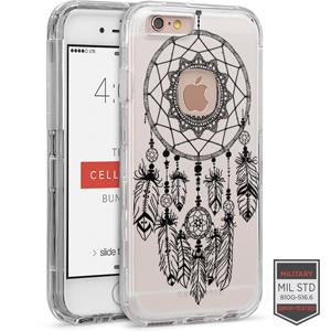 IPHONE 6/ 6S - RAPTURE CLEAR HENNA DREAM CATCHER BLACK 81-0010134 - Accesorios y repuestos Celular Cellairis