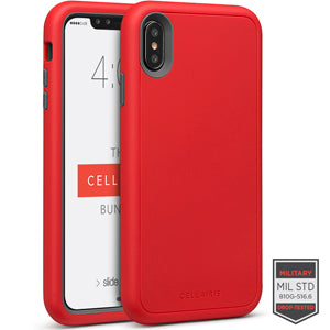 Rapture Red/Dark Grey Matte Finish 81-0012005 - Accesorios y repuestos Celular Cellairis