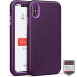 iPhone XS Max - Rapture Dark Purple/Purple Matte Finish 81-0012007 - Accesorios y repuestos Celular Cellairis