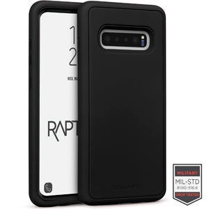 Samsung Galaxy S10+ - Rapture Black/Black Matte Finish 81-0018001 - Accesorios y repuestos Celular Cellairis