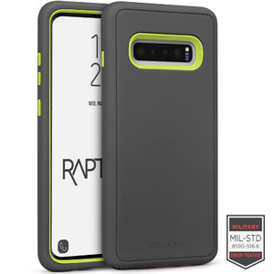 Samsung Galaxy S10+ - Rapture Gunmetal/Citron Matte Finish 81-0018003 - Accesorios y repuestos Celular Cellairis