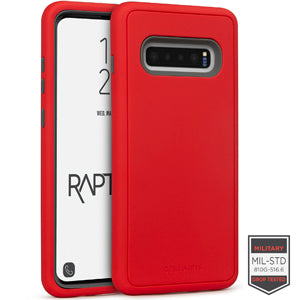 Samsung Galaxy S10+ - Rapture Red/Dark Grey Matte Finish 81-0018004 - Accesorios y repuestos Celular Cellairis