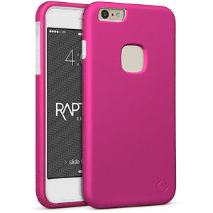 iPhone 6+ - Rapture Hot Pink/ White 81-0020006 - Accesorios y repuestos Celular Cellairis