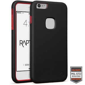 iPhone 6/S plus - Rapture Black/Red Matte 81-0020025 - Accesorios y repuestos Celular Cellairis