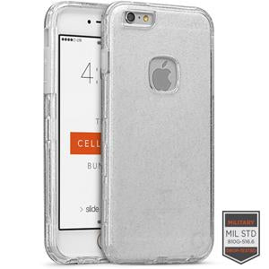 IPHONE 6/S+ - RAPTURE CLEAR SILVER GLITTER/CLEAR 81-0020033 - Accesorios y repuestos Celular Cellairis