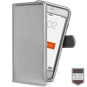 IPHONE 6/6S PLUS - RAPTURE DIARY CABRIO METALLIC SILVER 81-0020043 - Accesorios y repuestos Celular Cellairis