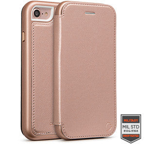 iPhone 7 - Rapture Diary Rose Gold 81-0040044 - Accesorios y repuestos Celular Cellairis