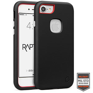 iPhone 7 - Rapture Black/Red Matte 81-0040053 - Accesorios y repuestos Celular Cellairis