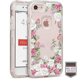 IPHONE 7/8 - RAPTURE CLEAR FLORAL BLOSSOM 81-0040086 - Accesorios y repuestos Celular Cellairis