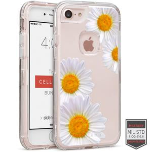 IPHONE 7/8- RAPTURE CLEAR FLORAL DAISY 81-0040088 - Accesorios y repuestos Celular Cellairis