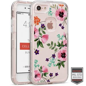 IPHONE 7/8 - RAPTURE CLEAR FLORAL POPPY 81-0040092 - Accesorios y repuestos Celular Cellairis