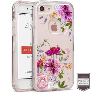 IPHONE 7/8 - RAPTURE CLEAR FLORAL DAHLIA 81-0040098 - Accesorios y repuestos Celular Cellairis