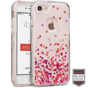 IPHONE 7/8 - RAPTURE CLEAR HEART BREEZE PINK 81-0040101 - Accesorios y repuestos Celular Cellairis
