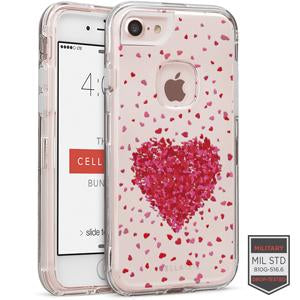 IPHONE 7/8 - RAPTURE CLEAR HEART BURST 81-0040103 - Accesorios y repuestos Celular Cellairis