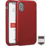 IPHONE X/XS - RAPTURE RED/DARK GY MATT	81-0060004 - Accesorios y repuestos Celular Cellairis