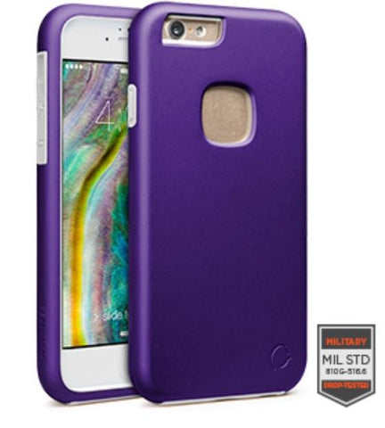 IPHONE 6/6S - RAPTURE PURPLE/WHITE MATTE FINISH 81-0010004 - Accesorios y repuestos Celular Cellairis