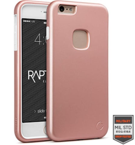 IPHONE 6/S PLUS - RAPTURE ROSE GOLD/WHITE MATTE FINISH 81-0020019 - Accesorios y repuestos Celular Cellairis