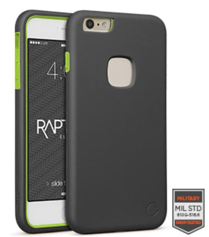 IPHONE 6/S PLUS - RAPTURE GUNMETAL/CITRON MATTE FINISH	81-0020003 - Accesorios y repuestos Celular Cellairis