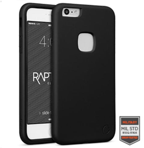IPHONE 6/S PLUS - RAPTURE BLACK/BLACK MATTE FINISH 81-0020001 - Accesorios y repuestos Celular Cellairis
