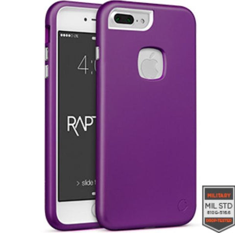 IPHONE 7 PLUS - RAPTURE PURPLE/WHITE METALLIC FINISH 81-0050052 - Accesorios y repuestos Celular Cellairis