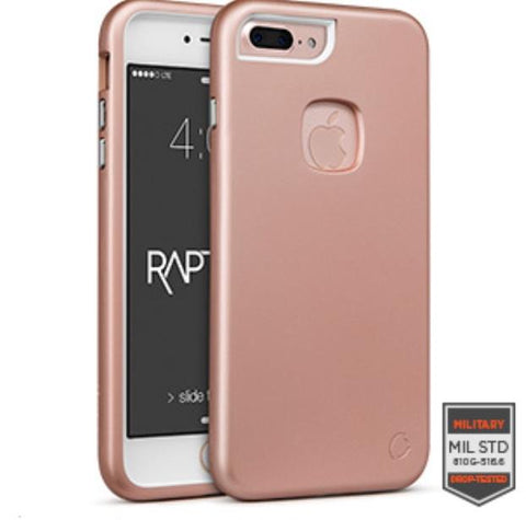 IPHONE 7 PLUS - RAPTURE ROSE GOLD/WHITE MATTE FINISH	81-0050004 - Accesorios y repuestos Celular Cellairis