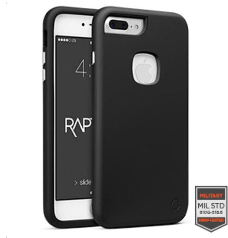 IPHONE 7 PLUS - RAPTURE BLACK/BLACK MATTE FINISH	81-0050001 - Accesorios y repuestos Celular Cellairis