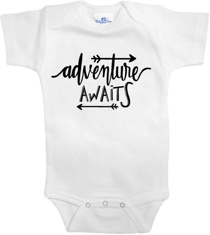 Adorable Baby Tee Time Adventure Awaits popular Baby one piece