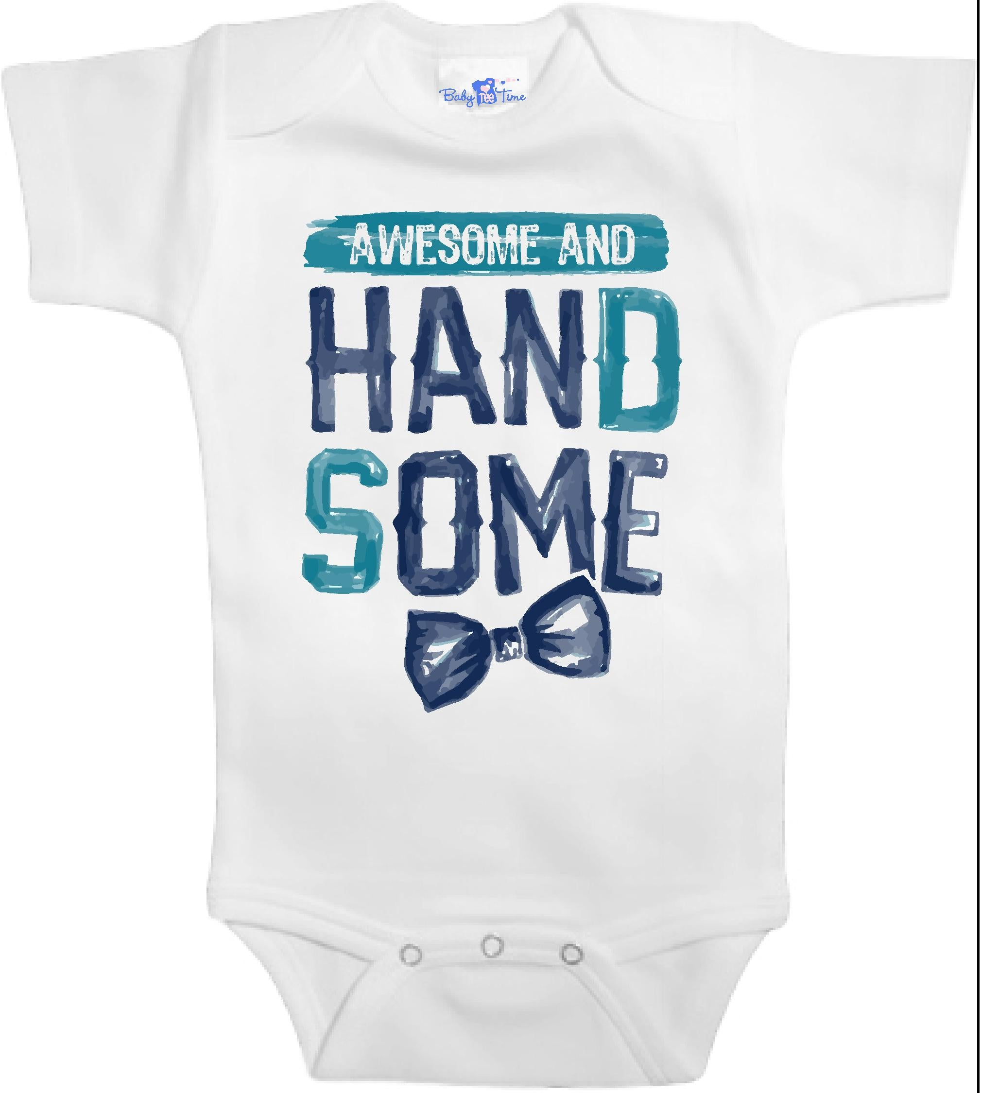 Adorable Baby Tee Time Awesome and handsome popular Baby clothes