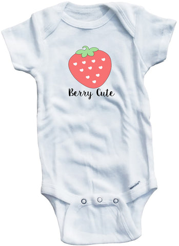 "Adorable Baby Tee Time ""Berry Cute"" Baby clothes"
