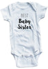 "Adorable Baby Tee Time ""Best Baby Sister"" Baby clothes"