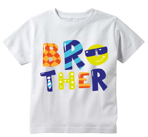Baby boys Brother cute baby clothes tee shirt infant clothing