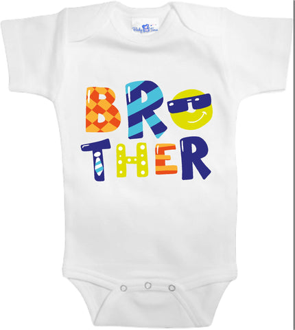 Adorable Baby Tee Time Brother popular Baby clothes