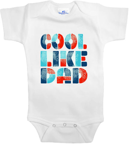Adorable Baby Tee Time Cool like dad popular Baby clothes