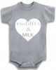 "Adorable Baby Tee Time ""Cuddles & Milk"" Baby clothes"