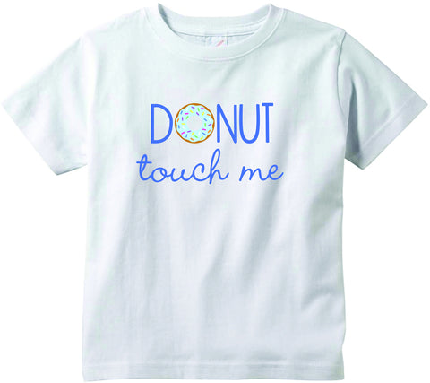 Baby boys Donut touch me funny baby clothes tee shirt infant clothing