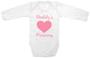 "Adorable Baby Tee Time ""Daddy's Princess"" Baby Onesie"