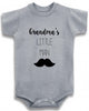 "Adorable Baby Tee Time ""Grandma's Little Man"" Onesie"