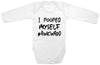 "Adorable Baby Tee Time ""I Pooped Myself #Awkward"" Funny Onesie"