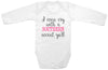 "Funny Adorable Baby Tee Time ""I even cry with a southern accent ya'll"" Baby Onesie"