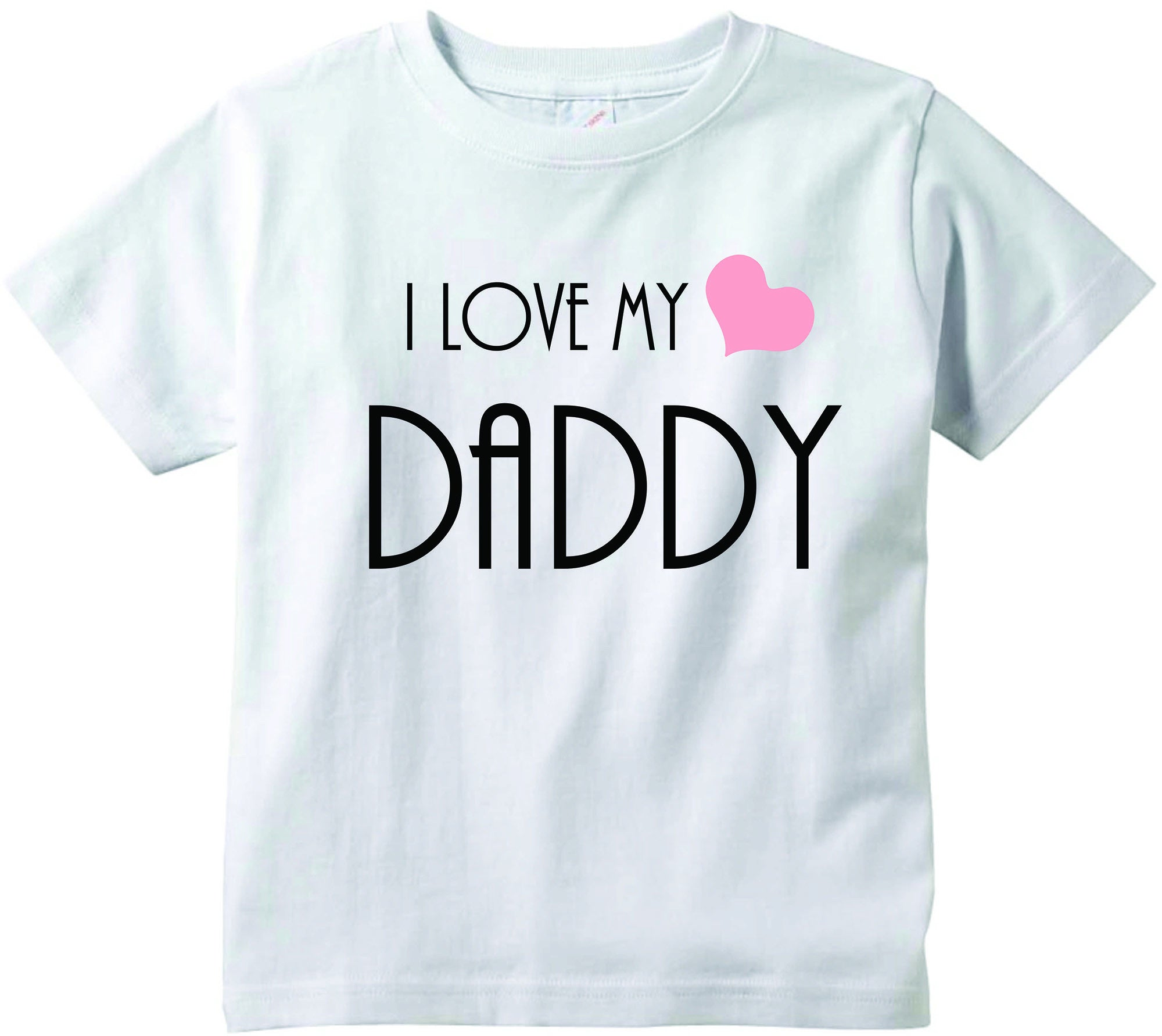 Baby girls I love my Daddy cute infant clothing funny baby clothes
