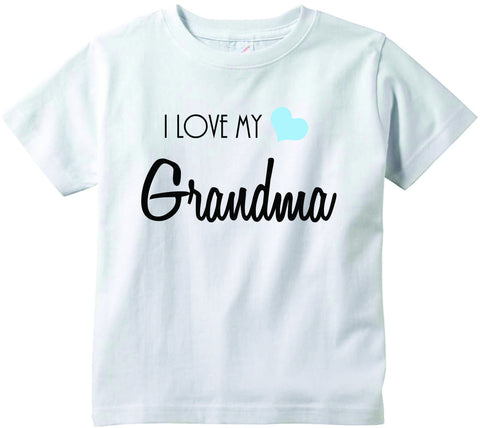 Baby boys I love my Grandma cute infant clothing funny baby clothes tee shirt