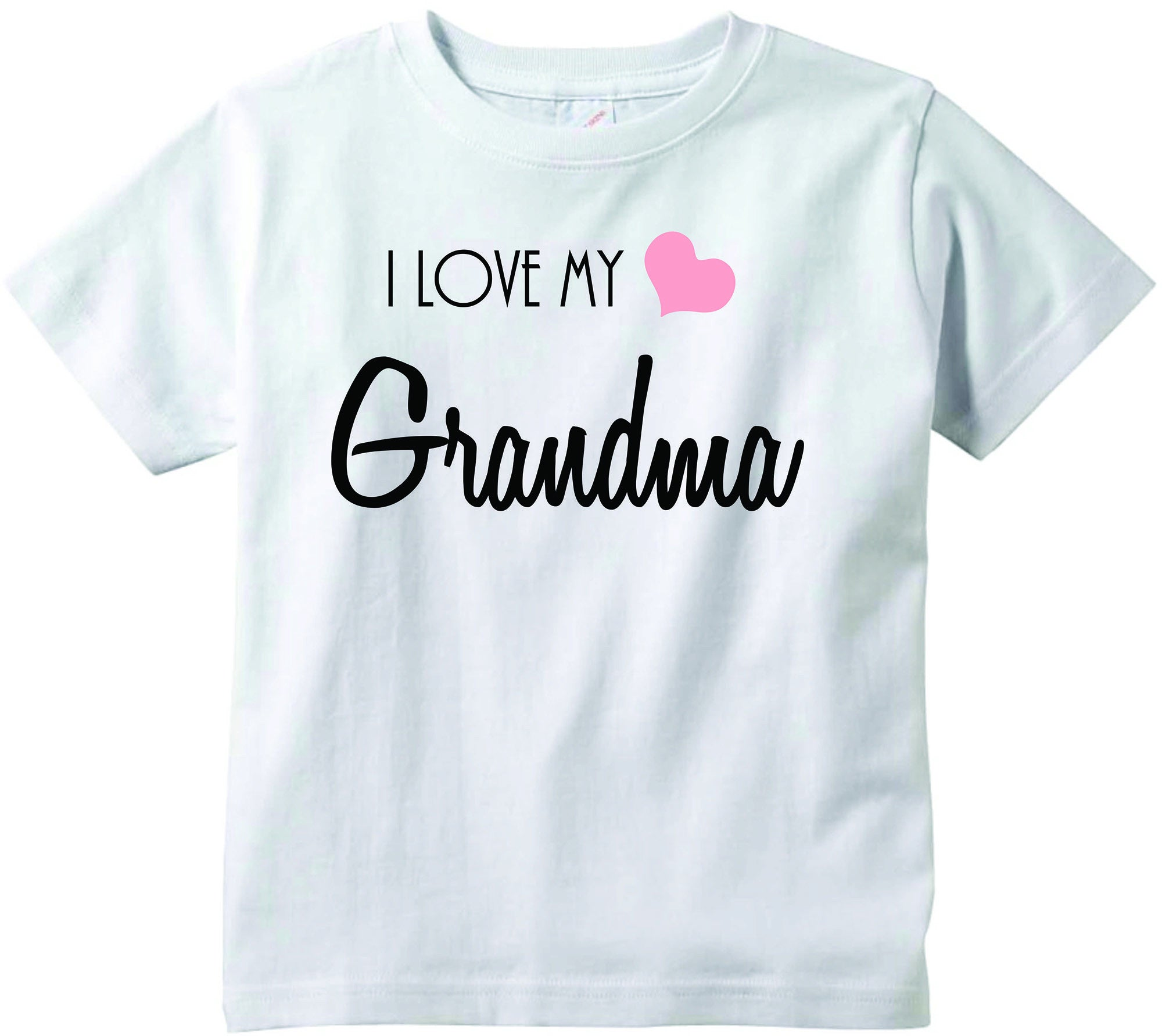Baby girls I love my Grandma cute infant clothing funny baby clothes
