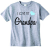 Baby boys I love my Grandpa cute infant clothing funny baby clothes tee shirt